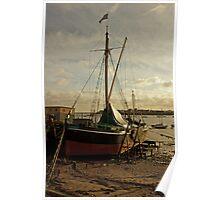 Sailing barge Poster
