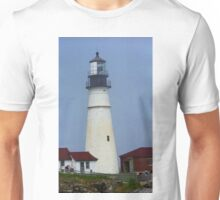 Lighthouse - Portland Head, Maine Unisex T-Shirt