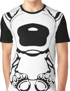 English Bull Terrier Sit Design Graphic T-Shirt