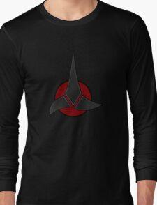 Klingon High Council Emblem Long Sleeve T-Shirt