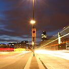 London Bridge at night  by chaucheong