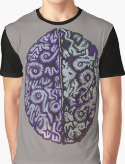 Purple Brains Graphic T-Shirt