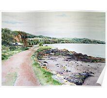 River Tay at Balmerino,Fife. Scotland Poster