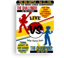 The Big Battle Canvas Print