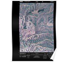 USGS Topo Map Washington State WA Peola 20110421 TM Inverted Poster