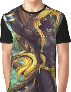 Forest Guardian Dragon Graphic T-Shirt