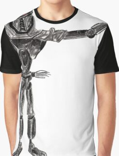 Cute Cylon with a Wand Graphic T-Shirt