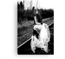 Series: Feral Nymphs- Nydarian 4 Canvas Print