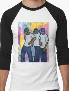 Let's STEP, My Brothas Men's Baseball ¾ T-Shirt