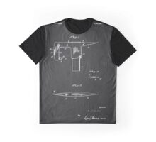 Vintage Firefighter Axe Patent 1925 Graphic T-Shirt
