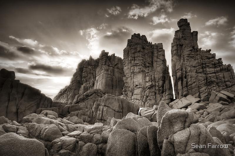 Stacked Skyward - The Pinnacles, Phillip Island by Sean Farrow