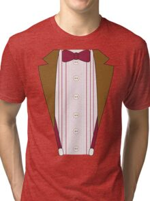 11th Doctor Outfit Tri-blend T-Shirt