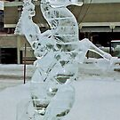 Ice Carving, Edmonton, Alberta, Canada by Adrian Paul