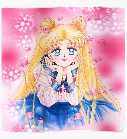 Sailor Moon Manga Artbook Poster