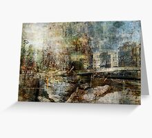 Bridge over troubled Water I Greeting Card