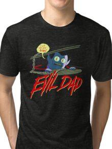 Evil Dad Tri-blend T-Shirt