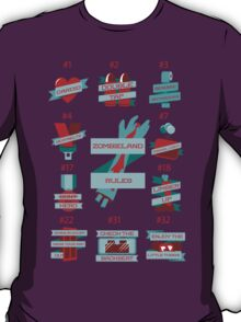 Rules of Zombieland T-Shirt