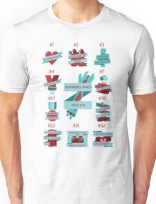 Rules of Zombieland Unisex T-Shirt