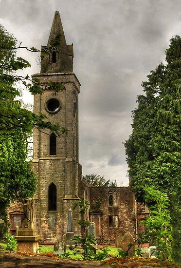 Carriden Old Church Spire by Tom Gomez