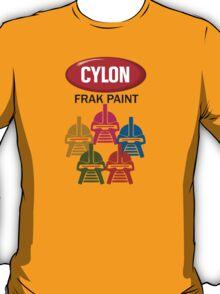 Cylon Frak Paint T-Shirt