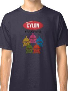 Cylon Frak Paint Classic T-Shirt