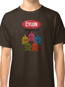 Cylon Frak Paint Classic T-Shirt