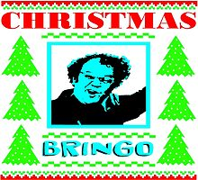 Dr. Steve Brule CHRISTMAS BRINGO UGLY SWEATER by PrettyStuff