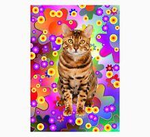 Groovy kitten.  Bengal cat.  Unisex T-Shirt