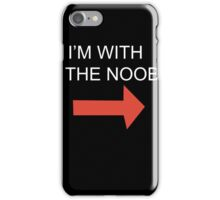 THE NOOB iPhone Case/Skin