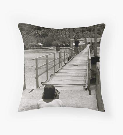 Kalle&Sanna Throw Pillow