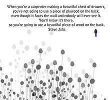 Your Work - Steve Jobs by Trilbycole