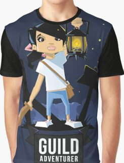 Girl Adventurer Graphic T-Shirt