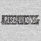 Resolutions Shirt by Insecondsflat