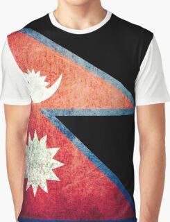 Nepal - Vintage Graphic T-Shirt
