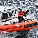 US Coast Guard At Work by Michael  Moss