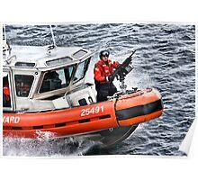 US Coast Guard At Work Poster