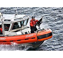 US Coast Guard At Work Photographic Print