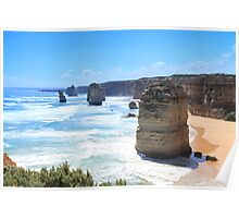 12 Apostles, Port Campbell Poster