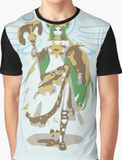 Minimalist Palutena from Super Smash Bros. 4 Graphic T-Shirt