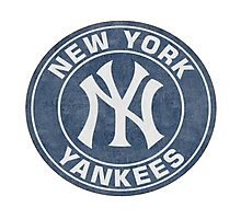 New York Yankees Stickers Photographic Print