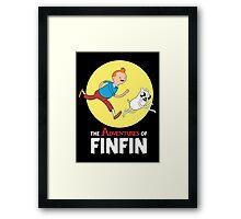 FINFIN Framed Print