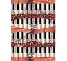 Piano - Keyboard - Musical Instruments Photographic Print