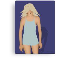 Blond Perfection Canvas Print