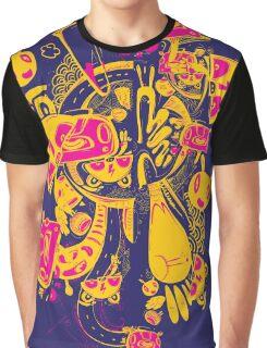 wild monster in the dark Graphic T-Shirt