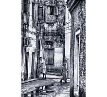 Stone Town Alley Photographic Print
