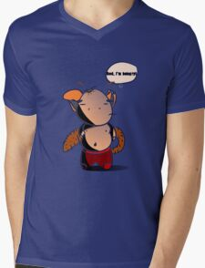 Fat Dragon Needs Food! Mens V-Neck T-Shirt