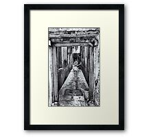 3 African Kids in Stone Town Framed Print