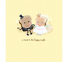 A Toast to the Happy Couple! by jillhowarth
