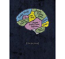 The Geek Brain Photographic Print