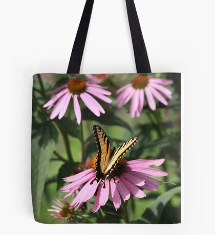 Echinacea with Butterfly 8835 Tote Bag